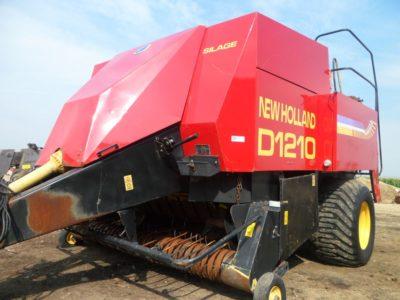 New Holland D1210 bálázó