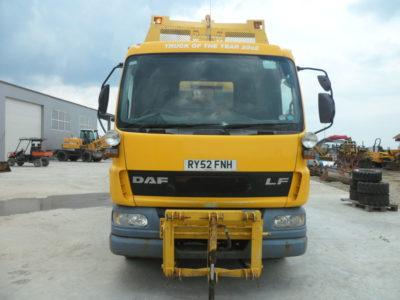 DAF 55.170 haszongépjármű sószóróval és hótolóval