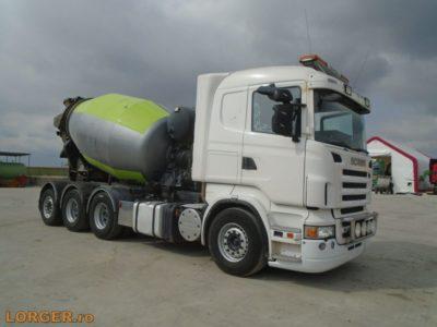 Scania R420 8×4 betonkeverö