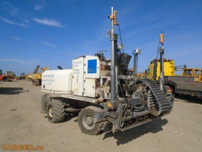 Somero S-160 laser screed (betonterítő gép)