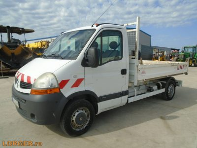 Renault Master dCI 120kishaszongépjármű