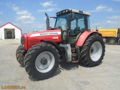 Massey Ferguson 7475 traktor
