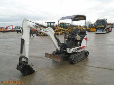 Mini-excavator Bobcat E16