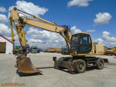 Excavator pe pneuriKomatsu PW170 ES