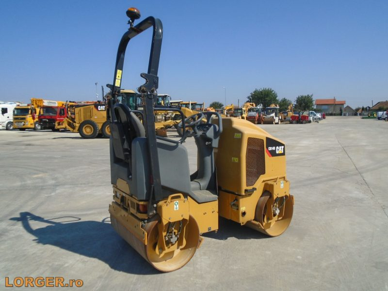 Compactor tandemCaterpillar CB14B